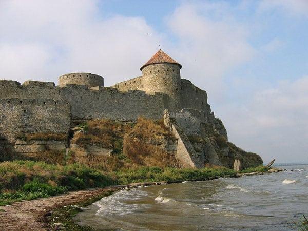 Citadelle de Cetatea Albă, aujourd'hui en Ukraine