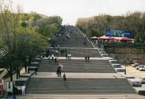 Le célèbre escalier d'Odessa
