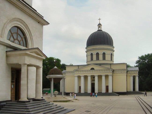Quartier de la basilique, à Chișinău